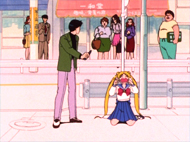 Sailor Moon Japanese Region 2 DVD #1 Image Quality Screencap