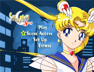 Sailor Moon S Heart Collection DVD 6: Main Menu Screencap Image