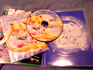 sailor moon sailor stars volume 1 dvd: puzzle, disk and case