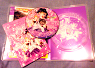 sailor moon sailor stars volume 2 dvd: puzzle, disk and case