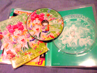 sailor moon sailor stars volume 4 dvd: puzzle, disk and case