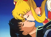 Sailor Moon almost kisses Tuxedo Mask in this Missing Sailor Moon Episode