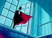 Sailor Moon: Tuxedo Mask appears