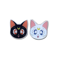 luna and artemis pins