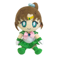 official japanese mini sailor jupiter plushie from bandai