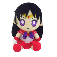 official japanese mini sailor mars plushie from bandai