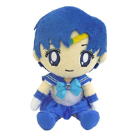 official japanese mini sailor mercury plushie from bandai