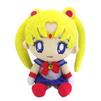 official japanese mini sailor moon plushie from bandai