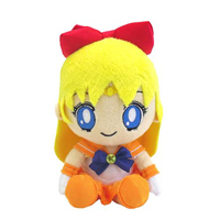 official japanese mini sailor venus plushie from bandai