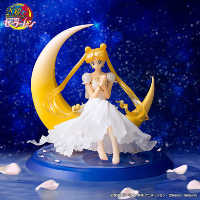 tamashii nations figuarts zero sailor moon princess serenity figure