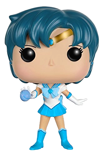 official sailor mercury sailor moon funko pop! figure