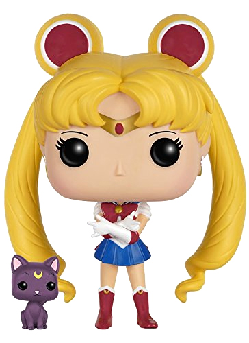 official sailor moon funko pop! figure