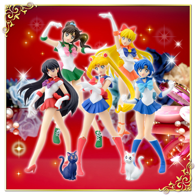 hgif sailor moon collection figures