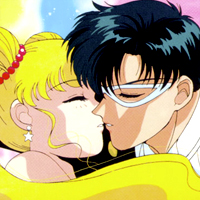 sailor moon and tuxedo mask first kiss  When do Sailor Moon...