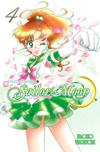new english sailor moon #4 manga cover featuring sailor jupiter