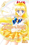 new english sailor moon #5 manga cover featuring sailor venus