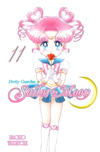 new english sailor moon #11 manga cover featuring sailor chibi chibi moon