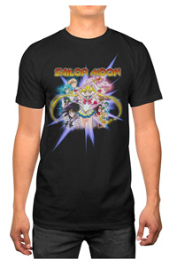 official sailor moon crystal men's t-shirt from haunted flower