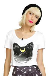 official sailor moon luna crop top