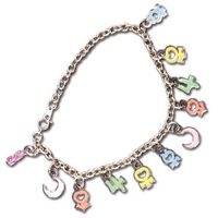 sailor moon planet symbol bracelet