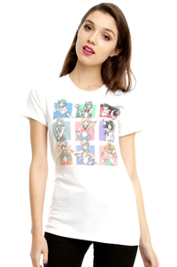 official sailor moon sailor scouts t-shirt