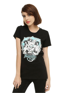 official sailor moon crystal t-shirt