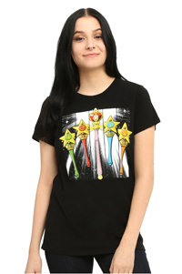 official sailor moon wands t-shirt