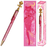 sailor moon spiral moon heart rod pen