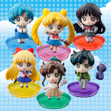 sailor moon school life petit chara figures