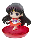 japanese petit chara sailor mars disk model / figure