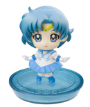 japanese petit chara sailor mercury disk model / figure
