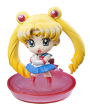 japanese petit chara sailor moon disk model / figure