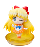 japanese petit chara sailor venus disk model / figure