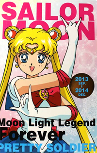 sailor moon schedule diary journal book for 2014