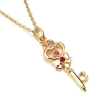 premium bandai sailor moon chibi use / rini space time key necklace