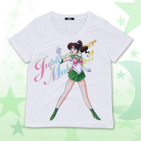 new sailor jupiter t-shirt from premium bandai