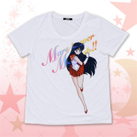 new sailor mars t-shirt from premium bandai
