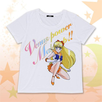 new sailor venus t-shirt from premium bandai