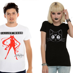 sailor moon t-shirt shopping guide