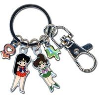 sailor mars and jupiter keyring