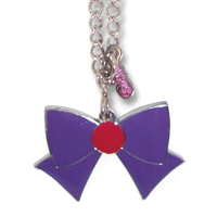 sailor mars ribbon necklace