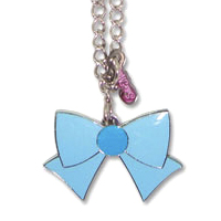sailor mercury ribbon necklace