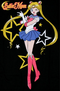sailor moon pose t-shirt from FYE / For Your Entertainment