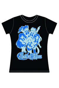 new sailor moon group womans t-shirt