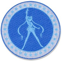 sailor moon blue patch