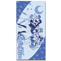 sailor moon blue towel