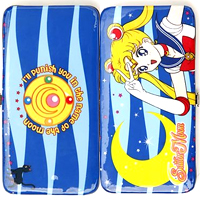 sailor moon blue wallet