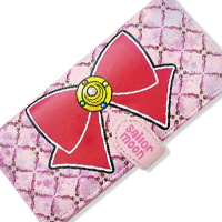 sailor moon brooch and bow wallet