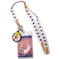 sailor moon cellphone lanyard