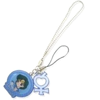 sailor mercury cell phone charm